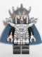 Minifig No: tnt052  Name: Shredder - Dark Blue Cape and Detailed Helmet (Movie Version)