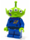 Minifig No: toy014  Name: Alien - Purple Splotch on Face