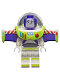 Minifig No: toy018  Name: Buzz Lightyear - Minifigure Head