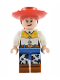 Minifig No: toy023  Name: Jessie - Normal Legs, Minifgure Head and Bow