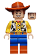 Minifig No: toy025  Name: Woody - Normal Legs, Minifgure Head, Smile and Teeth / Scared