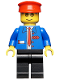 Minifig No: trn062  Name: Railway Employee 6