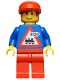Minifig No: trn063  Name: Railway Employee 7