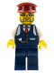 Minifig No: trn075  Name: Conductor Charlie
