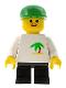 Minifig No: trn079  Name: Palm Tree - Black Short Legs, Green Cap