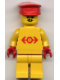 Minifig No: trn102  Name: Railway Employee Lego Loco 2