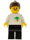 Minifig No: twn036  Name: Palm Tree - Black Legs, Brown Ponytail Hair