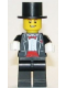 Minifig No: twn144  Name: Groom with Top Hat