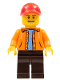 Minifig No: twn237  Name: Ferris Wheel Operator