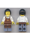 Minifig No: twn270a  Name: Barista with Back Print