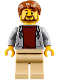 Minifig No: twn307  Name: Camper, Hooded Sweatshirt