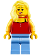 Minifig No: twn315  Name: Surfer, Female
