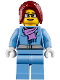 Minifig No: twn317  Name: Winter Vacationer, Female