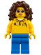 Minifig No: twn319  Name: Coaster Operator, Female