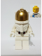 Minifig No: twn373  Name: NASA Apollo 11 Astronaut - Male with White Torso with NASA Logo and Lopsided Smile