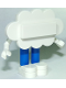 Minifig No: twt010  Name: Cloud Guy without Sticker