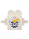 Minifig No: twt017s2  Name: Cloud Baby White with Sticker 2