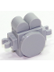 Minifig No: twt018  Name: Cloud Baby Light Bluish Gray without Sticker