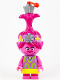 Minifig No: twt022  Name: Poppy with Yellow Skirt, Flat Silver Cupcake