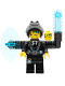 Minifig No: uagt013  Name: Agent Curtis Bolt Complete - No Sticker on Shield