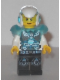 Minifig No: uagt031  Name: Agent Max Burns - Helmet and Armor, White Arms
