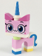 Minifig No: uni03  Name: Unikitty - Smiling
