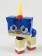 Minifig No: uni04  Name: Puppycorn, Grin