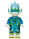 Minifig No: vid003  Name: Alien DJ