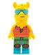 Minifig No: vid004  Name: Party Llama (L.L.A.M.A.)