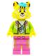 Minifig No: vid007  Name: DJ Cheetah - Minifigure only Entry
