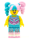 Minifig No: vid011  Name: Cotton Candy Cheerleader - Minifigure only Entry