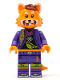 Minifig No: vid017  Name: Red Panda Dancer - Minifigure only Entry