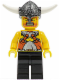 Minifig No: vik023  Name: Viking Warrior 6c - Black Hips and Legs