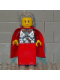 Minifig No: vik028  Name: Viking Red Chess Queen - Portions may be Glued