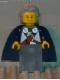 Minifig No: vik029  Name: Viking Blue Chess Queen - Portions may be Glued