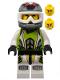 Minifig No: wr001  Name: Team X-treme Daredevil 1 (REX-treme) - Dirtbike Helmet