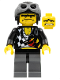 Minifig No: wr006  Name: Backyard Blaster 2 (Bubba Blaster) - Aviator Cap