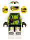Minifig No: wr008  Name: Team X-treme Daredevil 2 (DEX-treme) - Standard Helmet