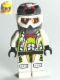 Minifig No: wr011  Name: Team X-treme Daredevil 3 (MAX-treme) - Dirtbike Helmet