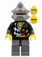 Minifig No: wr017  Name: Backyard Blaster 2 (Bubba Blaster) - Spiked Helmet