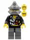 Minifig No: wr017  Name: Backyard Blaster 2 (Bubba Blaster) - Spiked Helmet