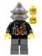 Minifig No: wr018  Name: Backyard Blaster 3 (Billy Bob Blaster) - Spiked Helmet