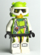 Minifig No: wr019  Name: Team X-treme Daredevil 2 (DEX-treme) - Wrap Helmet