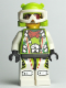 Minifig No: wr020  Name: Team X-treme Daredevil 3 (MAX-treme) - Wrap Helmet