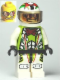 Minifig No: wr021  Name: Team X-treme Daredevil 3 (MAX-treme) - Standard Helmet
