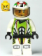 Minifig No: wr022  Name: Team X-treme Daredevil 1 (REX-treme) - Standard Helmet