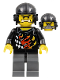 Minifig No: wr025  Name: Backyard Blaster 1 (Bart Blaster) - Aviator Cap