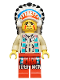 Minifig No: ww017  Name: Indian Chief