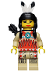 Minifig No: ww018  Name: Indian Female, Quiver