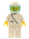 Minifig No: zip016  Name: Jacket with Zipper - White, White Legs, White Helmet, Trans-Light Blue Visor
